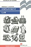Employment Law, Deborah Lockton, 0333753585