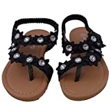 Blancho Bedding Sandals Black Sumer Infant Girl US8