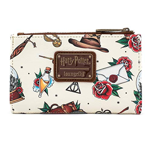 Loungefly x Harry Potter Tattoo All-Over Print Wallet