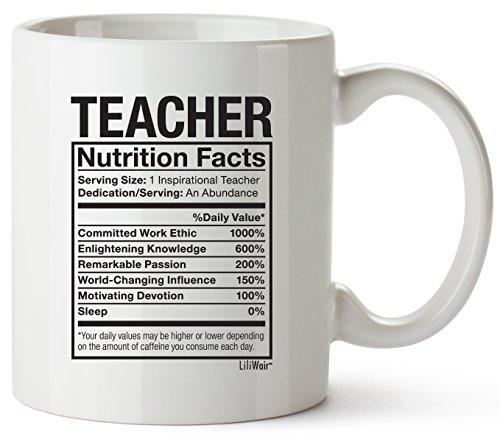 Teacher Appreciation Gifts Coffee Mug. Perfect & Funny Gift for Spanish, Math, Drama, English, Latin, Special Education, Music, History, Science, Kinder Garden, Pre-school, Elementary Retired Teachers