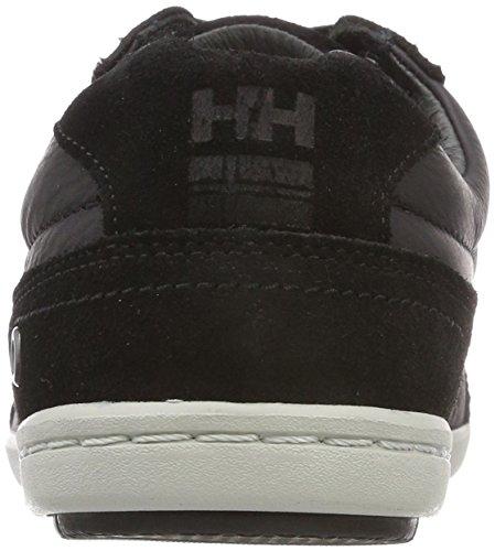 Helly HansenKORDEL Leather - Scarpe da Ginnastica Basse Uomo Nero (Black/Ebony/Red/Ash 990)