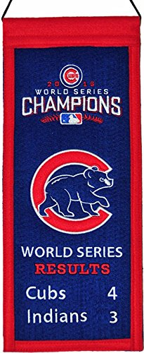 Chicago Cubs 2016 World Series Champions Mini Banner