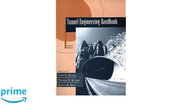 TUNNEL ENGINEERING HANDBOOK EPUB