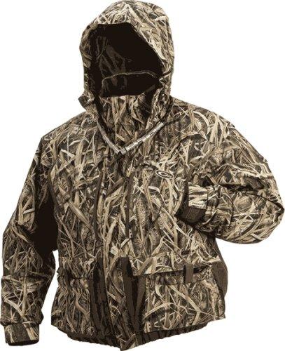 Drake Waterfowler Jacket Blades Camo Insulated Medium