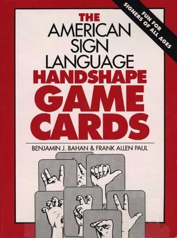 Harris Communications B169 American Sign Language Hand shape Playing Cards