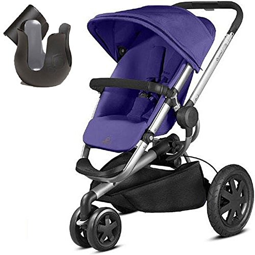 Quinny CV290CKUK10- Buzz Xtra Stroller With Cup Holder- Purple Pace