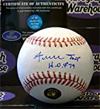 "Willie Mays autographed Baseball inscribed ""HOF 79"" (Willie Mays Authentication Hologram)"