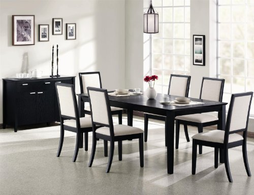 Coaster Louise Casual Dining Room Set with Dining Table and Dining Chair