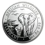 #4: 2015 Somalia Silver Elephant Uncirculated