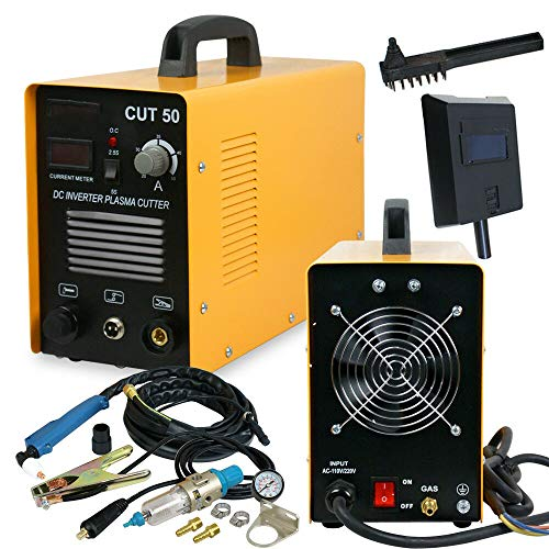 High Speed, Precision Plasma Cutting At A Low Cost Cutter CUT50 Digital Inverter 110/220V Dual Voltage DC Welding Machine With Screen Display AC 1/2'' Clean Cut 220V 50amp