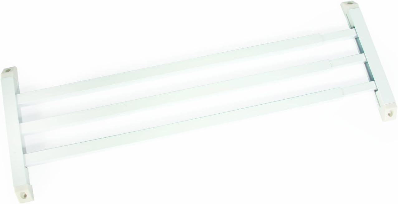 Camco 43977 Screen Door Push Bar (White)