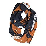 NFL Chicago Bears Silky Spatter Infinity Scarf