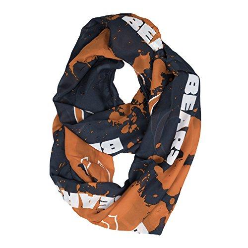 NFL Chicago Bears Silky Spatter Infinity (Silky Bear)