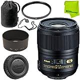 Nikon AF-S Micro-NIKKOR 60mm f/2.8G ED Lens Base Bundle