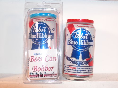Beer Can Bobber - Fish in Style - Pabst Blue Ribbon