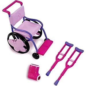 "My Life As Wheel Chair Set for 18"" doll"
