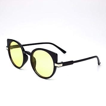 Yuanz Diseño de Marca Retro para Mujer Gafas de Sol para ...