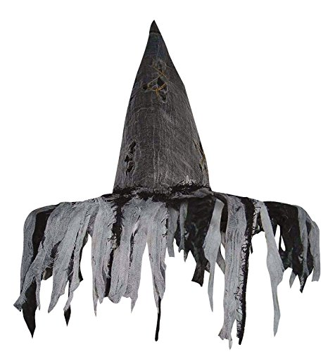 Deluxe Tattered Witch Hat ()