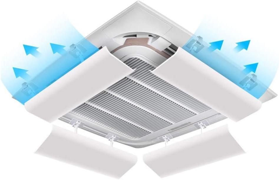 Deflector de Aire Acondicionado Central, Evitar Que el Aire sopla deflectores Rectos, ángulo Ajustable (una Rebanada) (Tamaño : 60cm): Amazon.es: Hogar