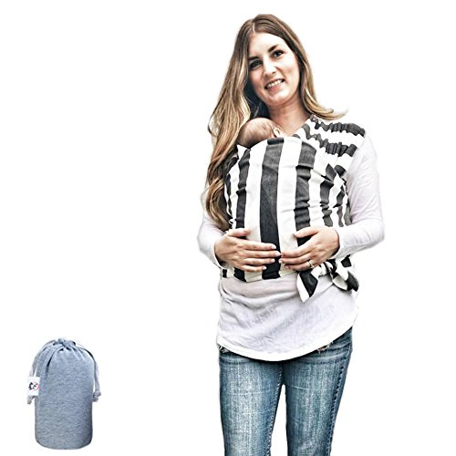 Baby Wrap Ergo Carrier Sling – by FNF Snugz – Baby Sling, Baby Wrap Carrier, Nursing Cover – Specialized Baby Slings and Wraps for Infants and Newborn