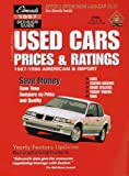 Edmund's Used Cars Prices and Ratings, Edmund's Staff, 0877596190