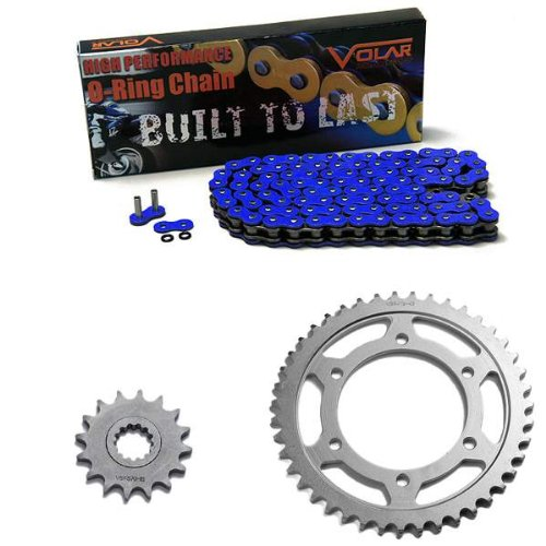 1998-2003 Yamaha YZF R1 O-Ring Chain and Sprocket Kit - Blue
