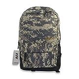 REAVEE Laptop Backpack 15.6 inch Men Water Resistant School Student Bookbag Teens Business Travel Computer Bag Backpack Lightweight Hiking Daypack Casual Shoulder Bag Camouflage