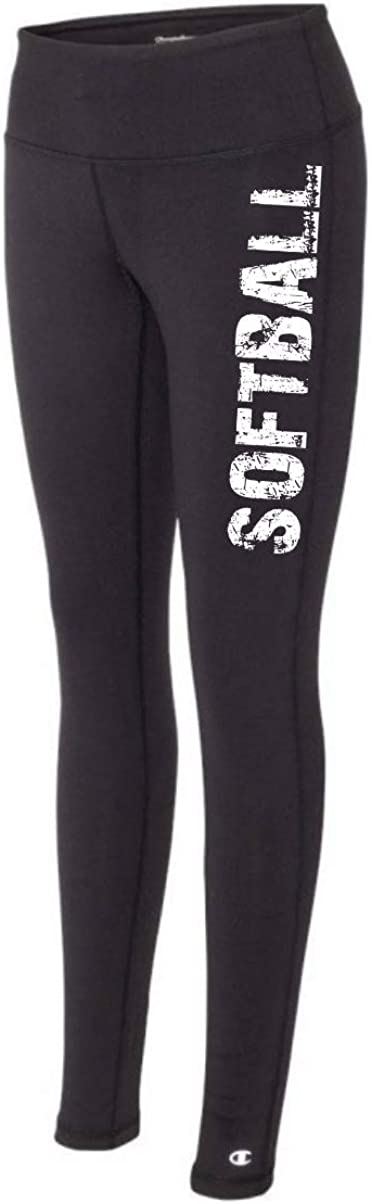 The Perfect Everyday Classic Tights for Athletic Girls and Women Softball Black Legging