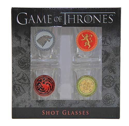 Game of Thrones House Sigil Shot Glass Set (Set of 4) by Rabbit Tanaka (Image #5)