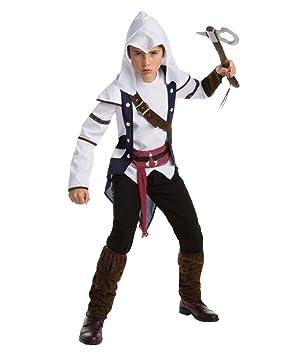 Assassins Creed Traje Adolescente Connor Teen: Amazon.es ...