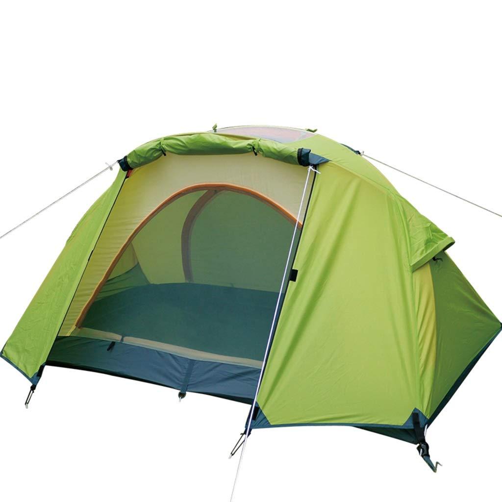 YaNanHome Imprägniern Zelt Zelt des Zeltes des Zeltes des Zeltes des Zeltes im Freien (Farbe : Grün, Größe : 210  120  110cm)
