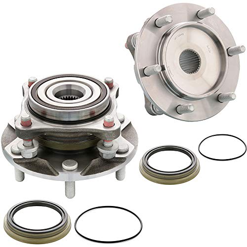 [2-Pack/Pair] 4110446 - FRONT Wheel Hub & Bearing Assembly for Toyota Tacoma, 4Runner, FJ Cruisers 4WD/4x4 Models, Lexus GX460, GX470 -[Cross Reference: 950-001, 515040]