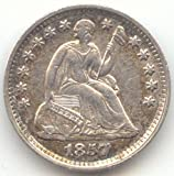 1857 Seated Liberty Half Dime About Uncirculated