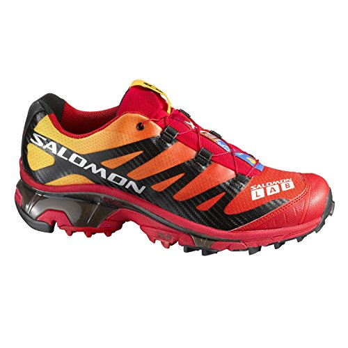Salomon Mens Running Trail S-lab 4 Xt Wings Softground - 128659 Rosso
