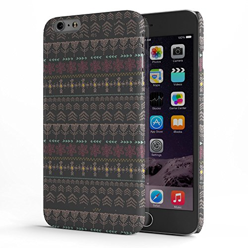 Koveru Back Cover Case for Apple iPhone 6 Plus - Brown Wall Pattern