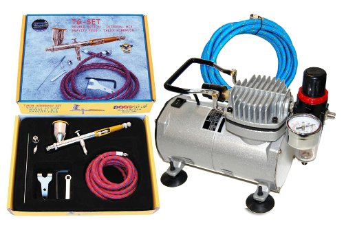 Paasche TG-SET Talon Airbrushing System with AirBrush-Depot TC-20 by Paasche