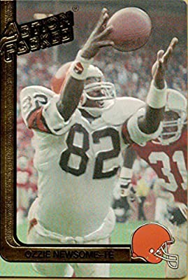 1991 Action Packed #50 Ozzie Newsome Browns