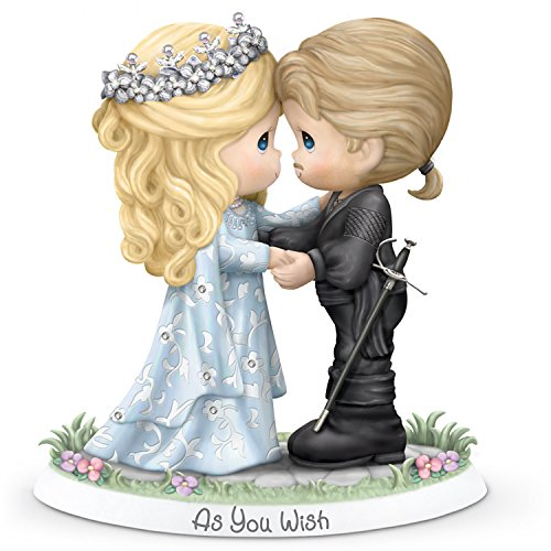 The Hamilton Collection Precious Moments The Princess Bride As You Wish Figurine With Buttercup And Westley