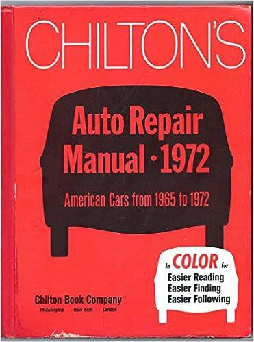 chilton repair manuals line