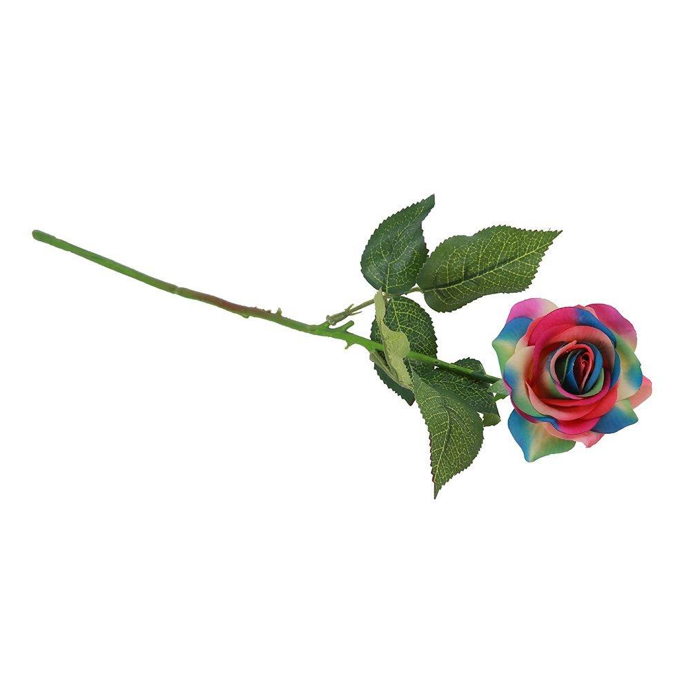 Amazon leegoaltm 10 pcs artificial silk rose flower bouquets amazon leegoaltm 10 pcs artificial silk rose flower bouquets for vase wedding home decorations 1 home kitchen izmirmasajfo