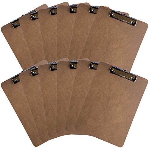 Clipboards Letter Hardboard Sturdy Profile product image