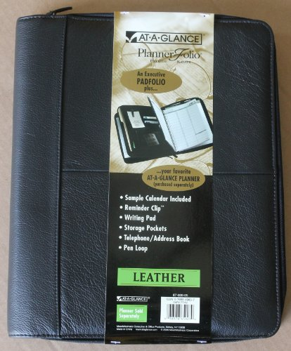 Glance Planner Executive Leather 87 009 05