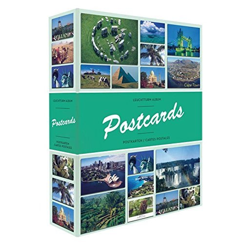 Postcard Album - Album POSTCARDS for 200 postcards, with 50 bound sheets