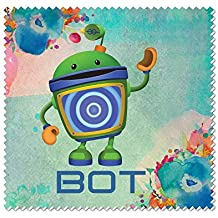 Team Umizoomi Bot Microfiber Cleaning Cloth For Cleaning Flat Screen TVs
