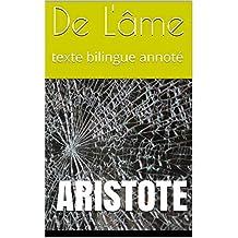 De L'âme: texte bilingue annoté (Hermes Language Reference t. 19) (French Edition)