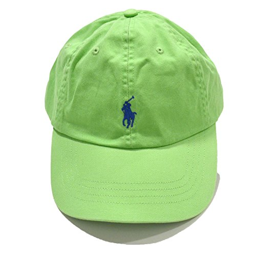 Polo Ralph Lauren Monogram Adjustable Ball Cap Green O/S by RALPH LAUREN