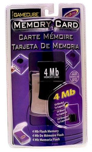 Amazon.com: Gamecube 4mb Memory Card- Black: Video Games