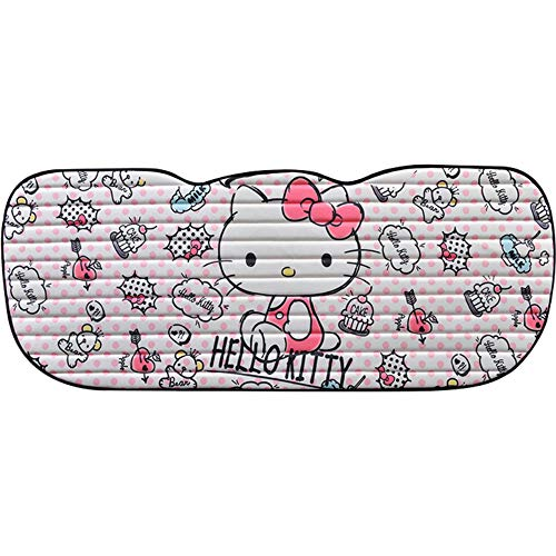DPIST Hello Kitty Rear Car Seat Covers Protector,Universal Fit,Used Four Seasons (Hello Kitty Seat Cover For Car)