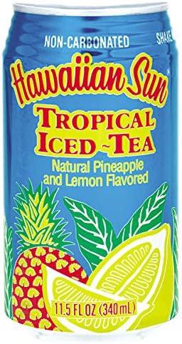 取り寄せ品 トロピカルアイスティー 340ml 1ケース 24本 ハワイアンサン アイスティー hawaiian sun※包装不可です [その他] [その他]