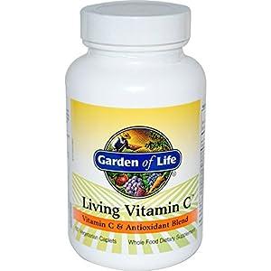 Garden of Life, Living Vitamin C, 60 Veggie Caplets